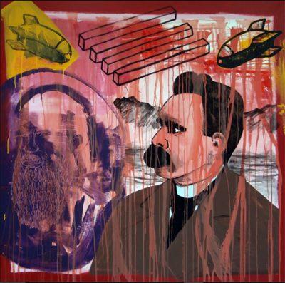 Michael Rotondi : dalla musica all'arte visiva nel suo garage mentale