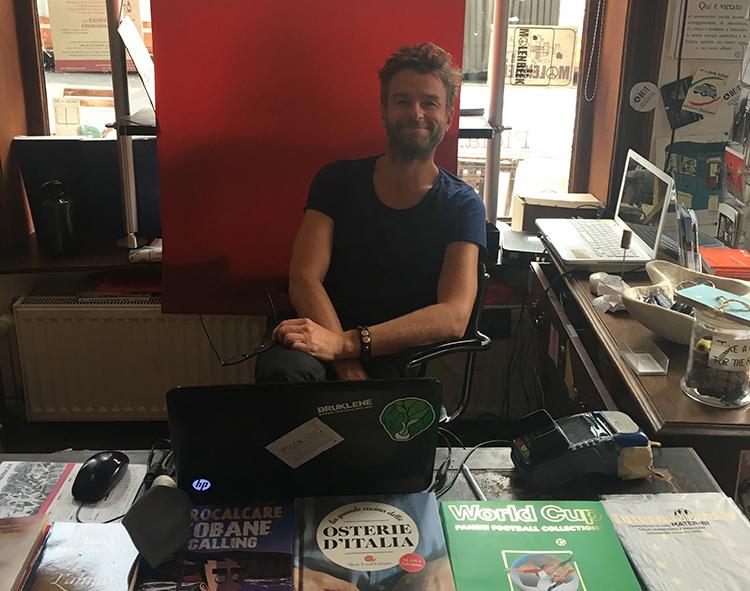 Intervista a Jacopo Panizza – Libreria La Piola, Bruxelles