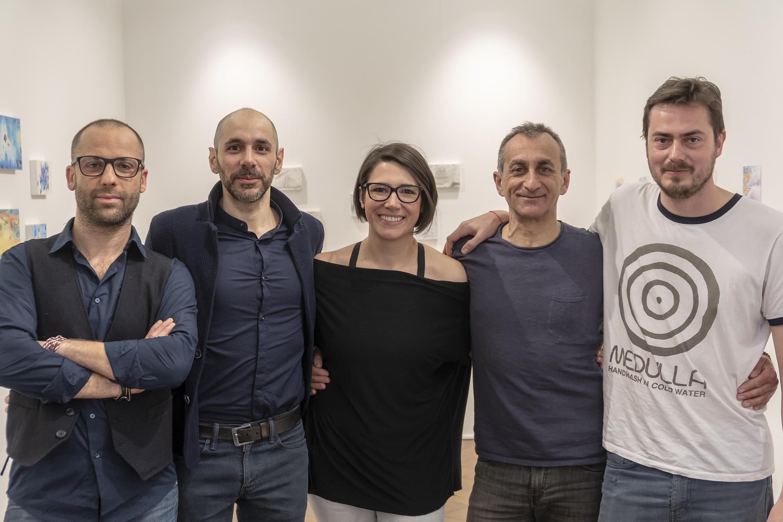 Quattro artisti, otto personalità, una visione comune
