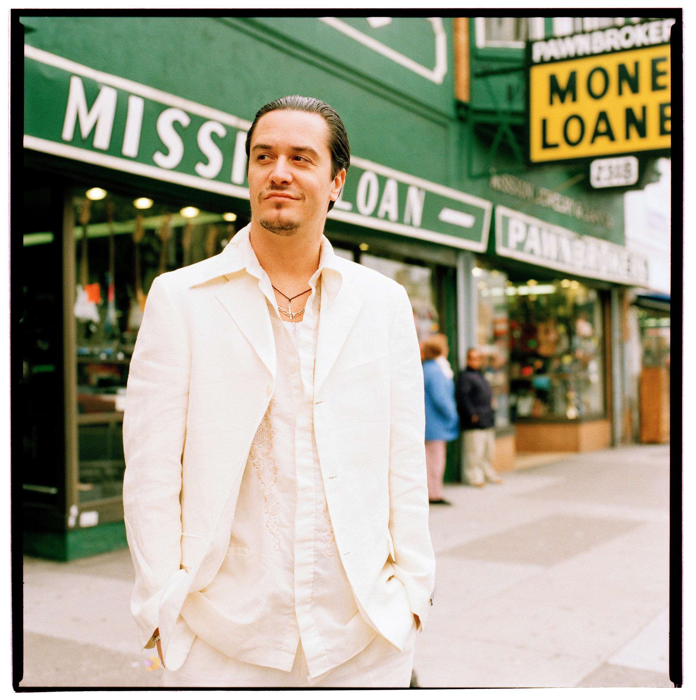 Mike Patton photographed in San Francisco, CA March 8, 2006 © Jay Blakesberg