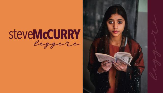 """Lèggere"", secondo Steve McCurry"