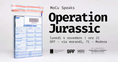 Immagini, parole e persone di MoCu Speaks – Operation Jurassic