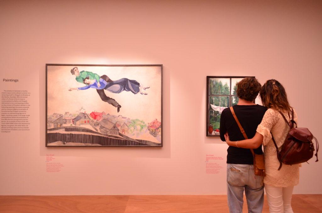 Mostra temporanea Chagall Mantova Museo Visitatori Turisti