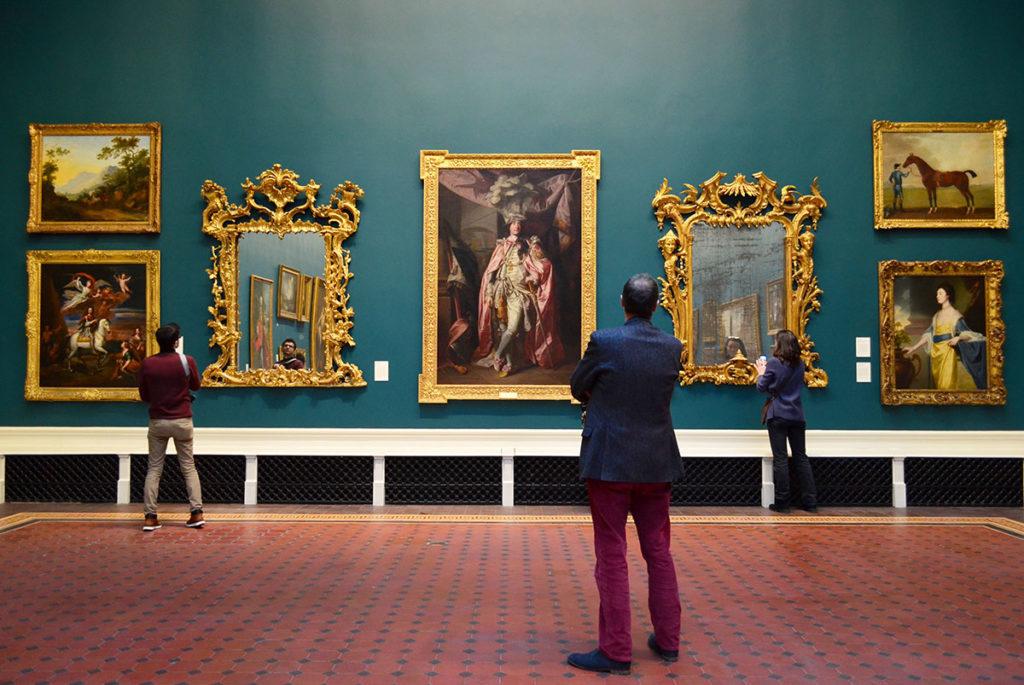 Turisti Visitatori Museo National Gallery of Ireland
