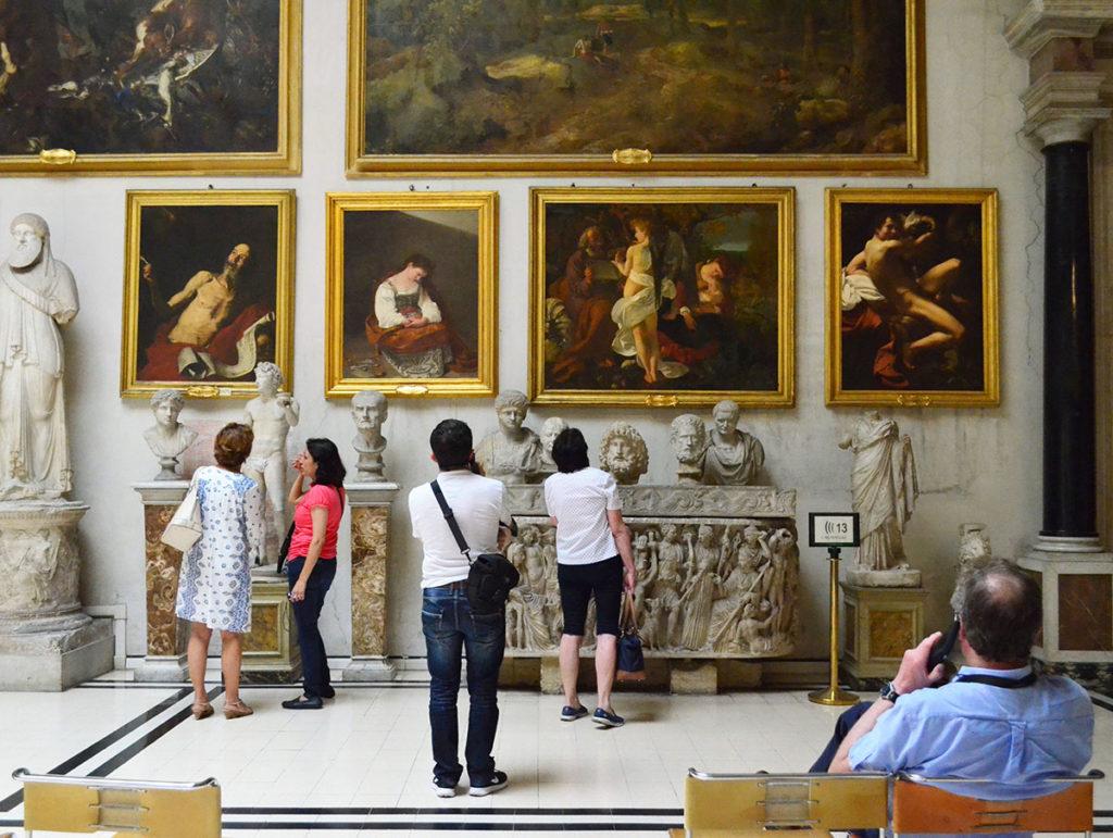 Visitatori Turisti Palazzo Doria Pamphilj, Roma