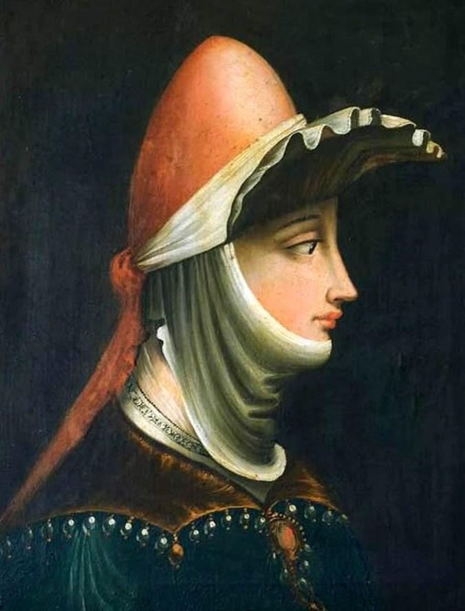 Parmigianino, Ritratto di Matilde di Canossa - olio su tela - Sec XVI - Mantova - Museo Diocesano PopHistory