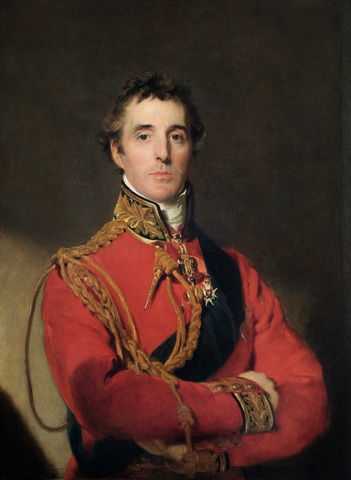 Arthur Wellesley, 1st Duke of Wellington, Thomas Lawrence, olio su tela, 1815/16 PopHistory