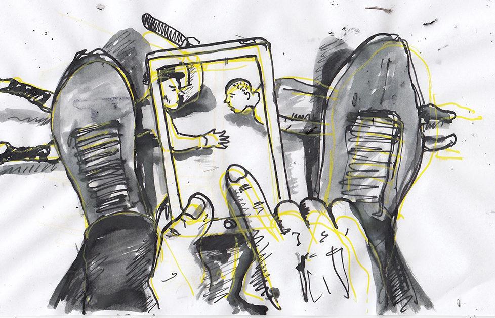 Disegno Illustrazione Collettivo FX osservare carcere sistema carcerario