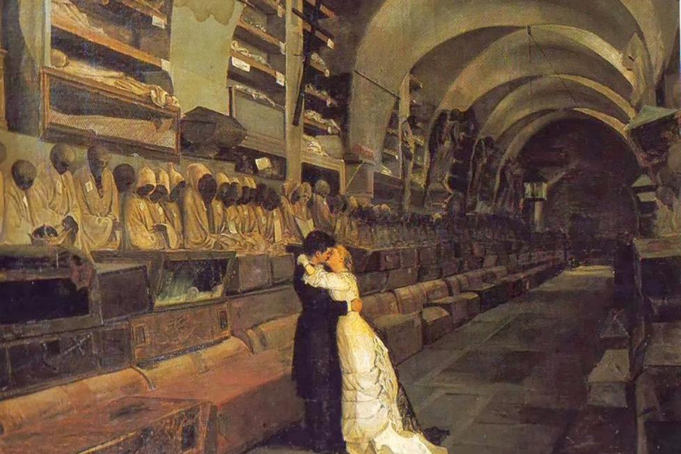 Calcedonio Reina _ Amore e Morte 1881-cover - commiato Modena Cultura
