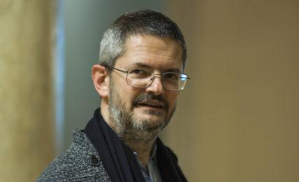 Claudio Longhi. Fotografia di Riccardo Frati Intervista Modena Cultura MoCu
