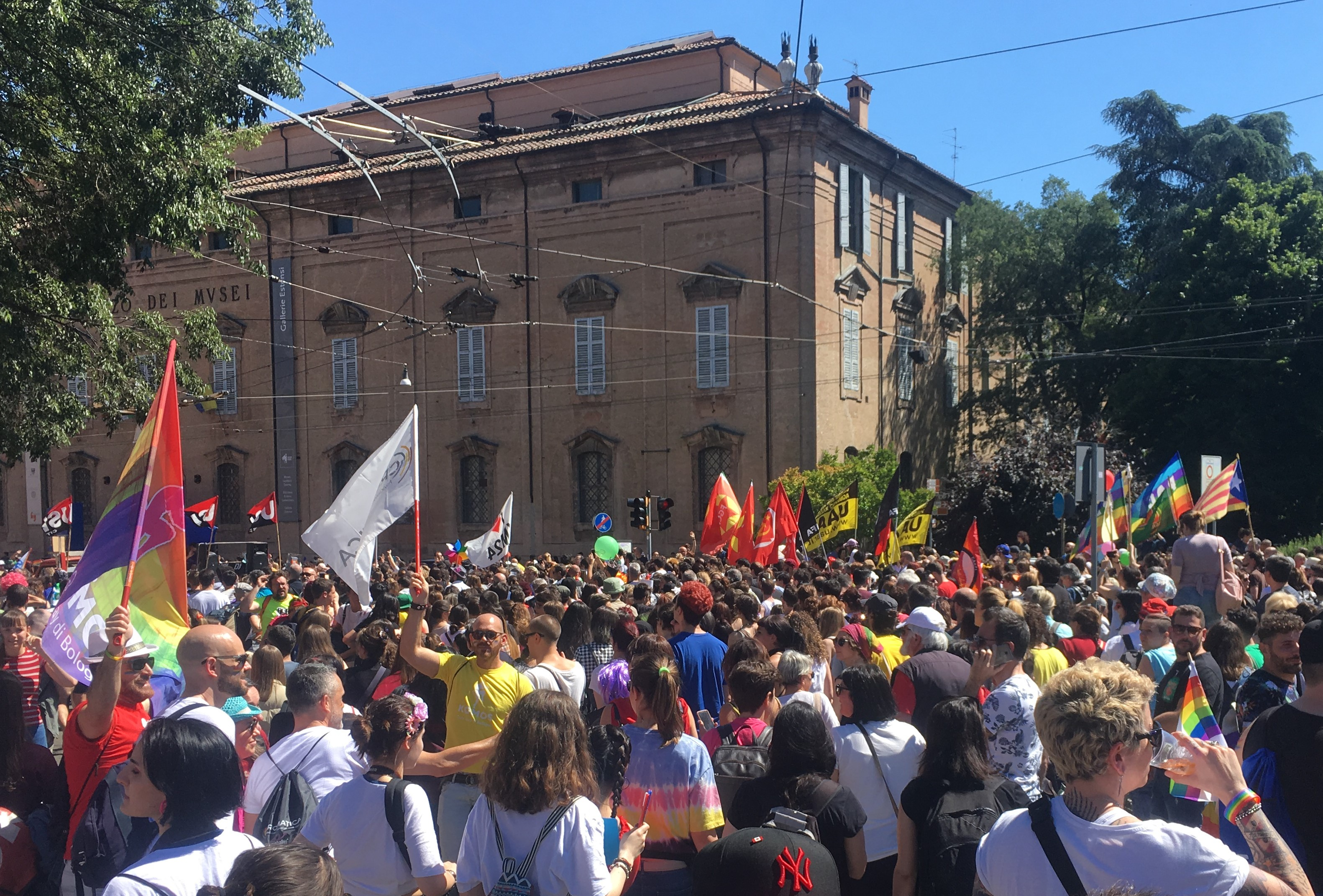 Modena Pride 2019. Fotografia di Alessio Bogani. MoCu Modena Cultura