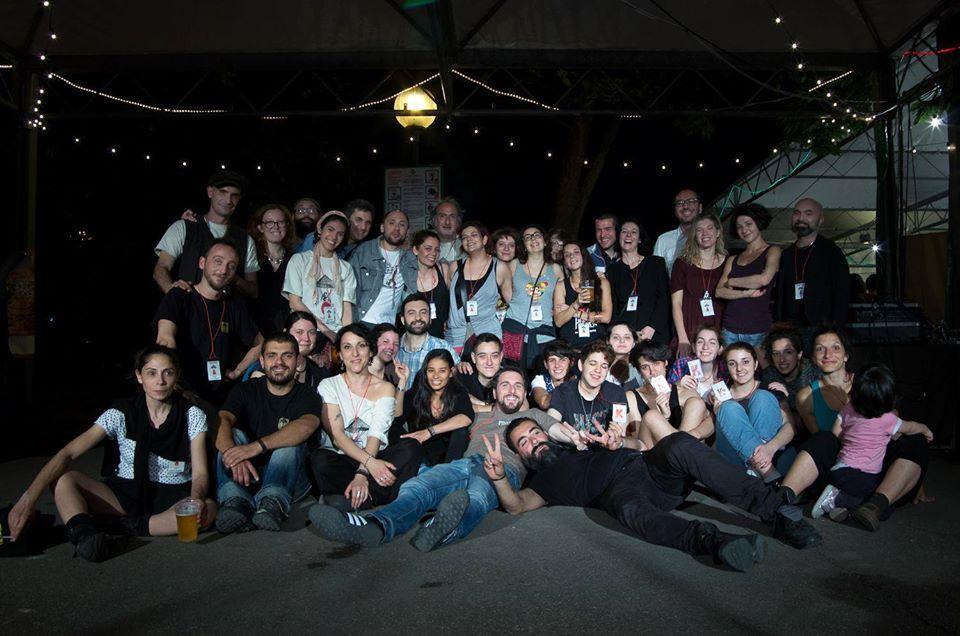 Staff Trasparenze Festival. Fotografia di Chiara Ferrin