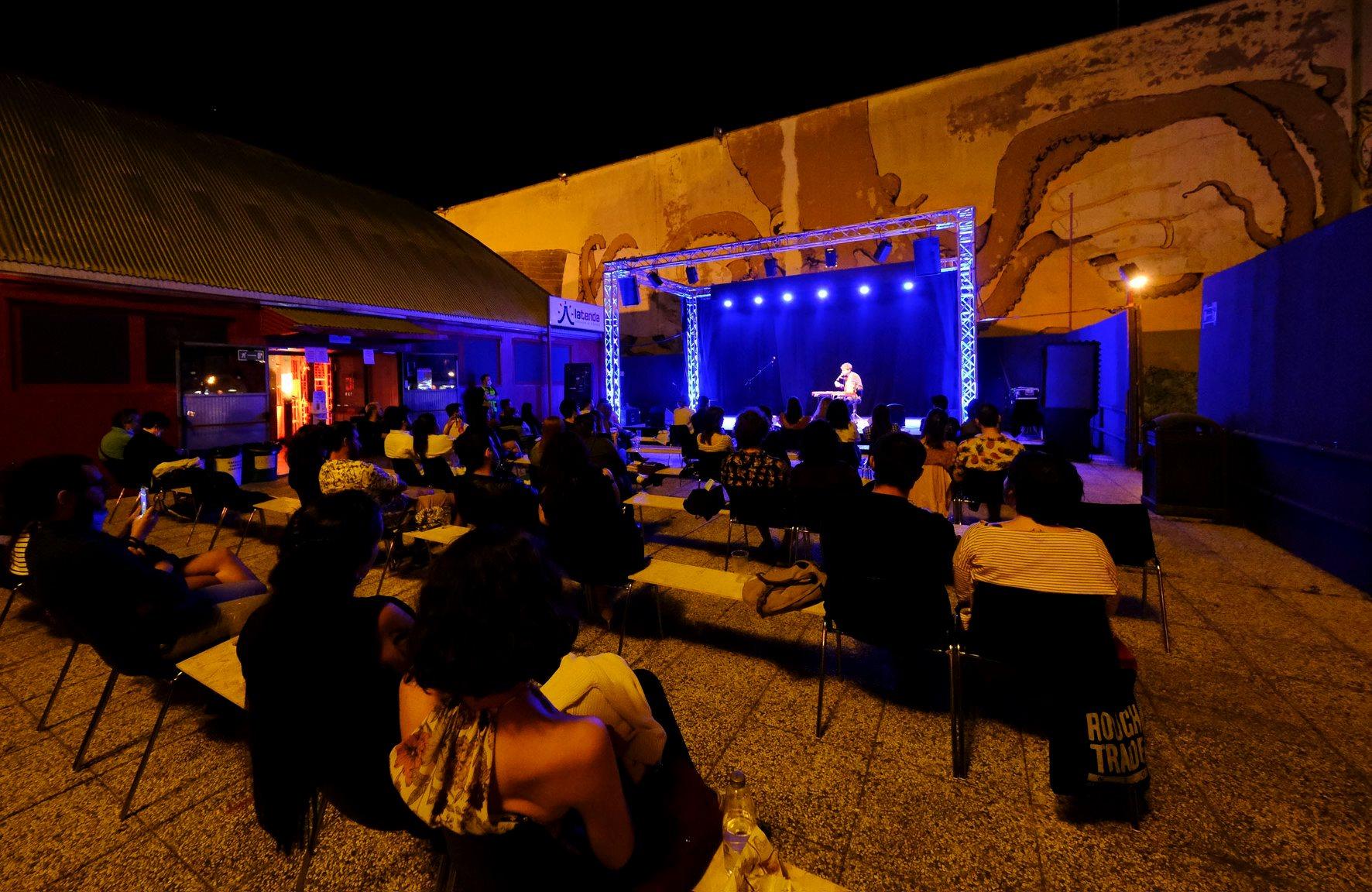 Cimini live @ La Tenda. Festa della Musica 2020. Fotografia di Campanini