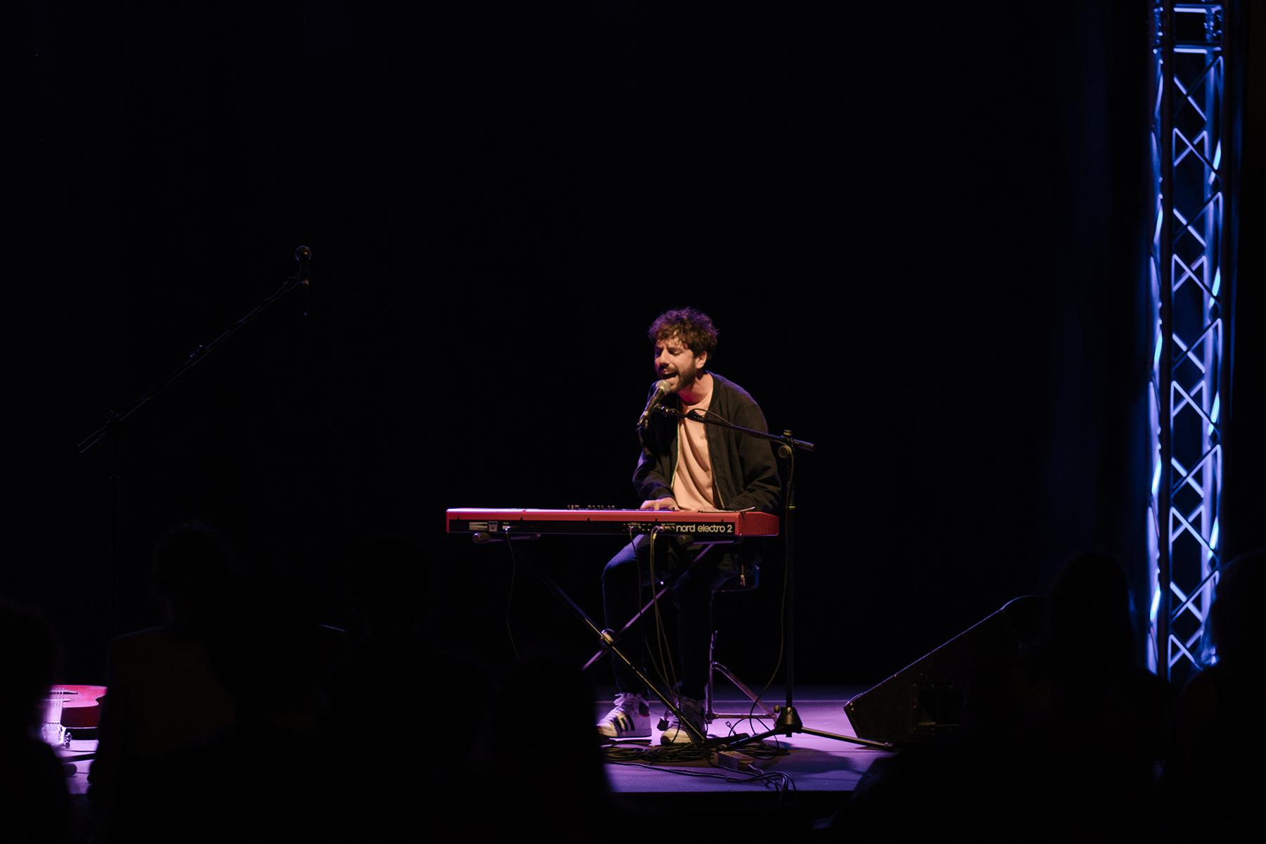 Cimini live @ La Tenda. Festa della Musica 2020. Fotografia di Federico Sigillo - Cento Musica