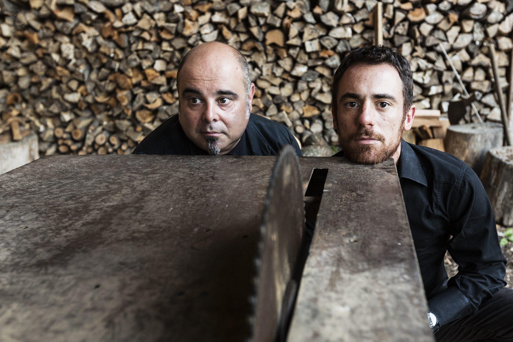Teho Teardo e Elio Germano. Foto di Elia Falaschi Concentrico Festival MoCu Modena Cultura