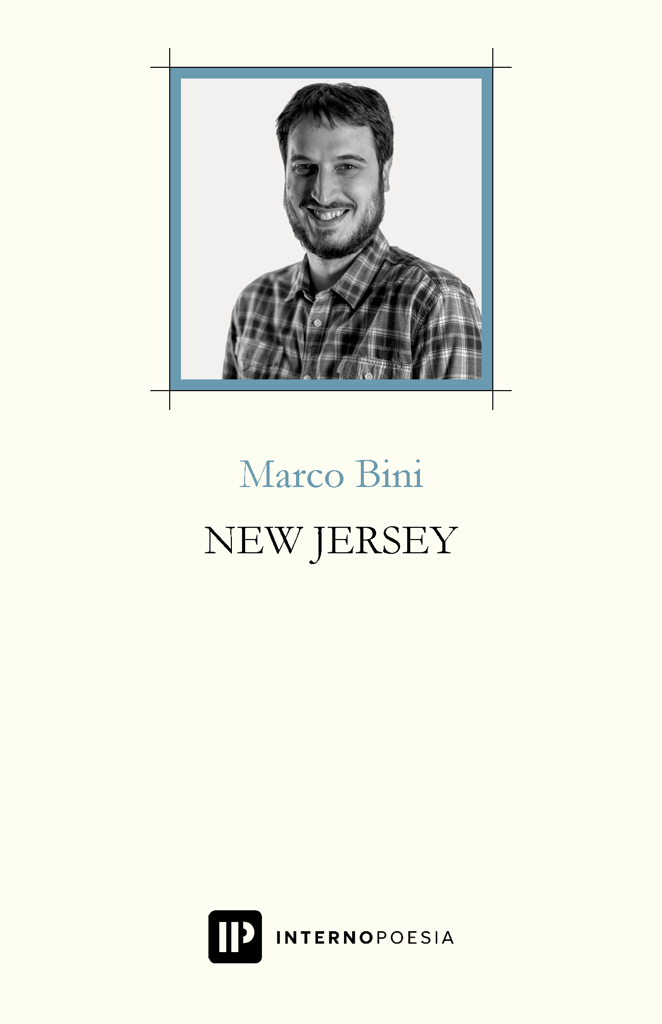 Marco Bini New Jersey Libro Poesia Modena