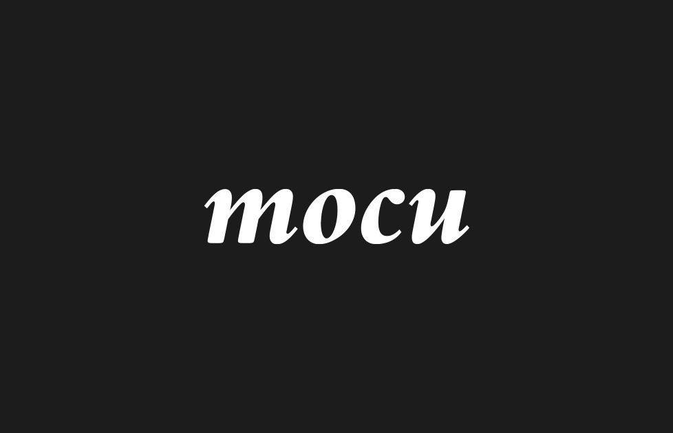 mocu modena cultura ripartenza logo