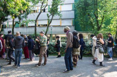 2016, Walkabout Trasparenze Festival MoCu Modena Cultura