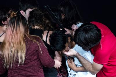2018, Dynamis. Fotografia di Chiara Ferrin Trasparenze Festival MoCu Modena Cultura