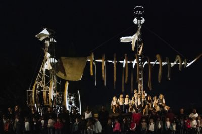 2019, Moby Dick. Fotografia di Chiara Ferrin MoCu Modena Cultura Trasparenze Festival