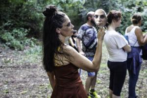 """""""Uomini e dèi. Primo studio: Artemide e Atteone"""". Trasparenze Festival 2020. Fotografia di Elisa Magnoni"""